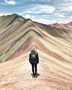 The Rainbow Mountains outside of Cusco, Peru - via Live Like it's the Weekend on Instagram