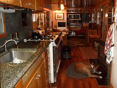 This 1956 Spartan Executive Mansion is a beautiful example of the beauty and durability of Spartans. These homes are truly the kings of vintage mobile homes