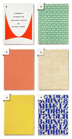Alexander Girard - Wallpaper