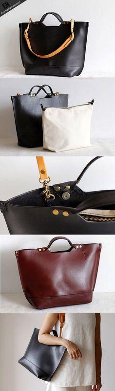 2b3e5b5f9e Handmade Leather tote bag for women leather shoulder bag handbag