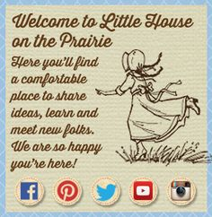 Thsi is an awesome website with all kind s of LHOTP things. . . Click the link: http://littlehouseontheprairie.com/