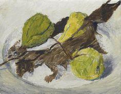 Hans Berger (1882–1977), Trois Poires, 1961, Huile sur toile, 25x32 cm Greece Islands, Painting, Color, Place, Artists, Google Search, Oil On Canvas, Pears, Kunst