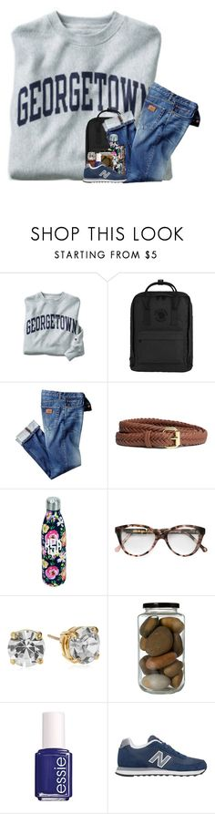 """I made a poly finsta!!! @katie-riley1"" by katie-1111 ❤ liked on Polyvore featuring Fjällräven, H&M, Cutler and Gross, Kate Spade, Essie and New Balance"