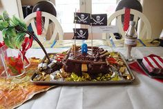 My Many Colored Days: Pirate Birthday Party
