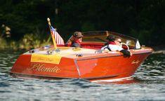Chris Craft  wooden boat~~                              The Nancy Jane !!!!! Lake Wawasee