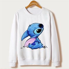 Lilo & Stitch -Super Fun And Super Warm - Women's Full Sleeve Casual Sweatshirt