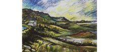 The road to Maghera - limited edition Irish art print from a painting by Irish artist Stephen Bennett. Landscape near Ardara, Co. Wild Atlantic Way, Irish Art, Donegal, Limited Edition Prints, Figure Painting, Art Prints, Contemporary, Landscape, Studio