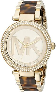 Michael Kors Women's Parker Brown Watch Watch Attachment type: 3 Link Bracelet Watch battery type: (battery included) Analog-quartz Movement Case Diameter: Water Resistant To 330 Feet Fossil Watches, Stainless Steel Bracelet, Quartz Watch, Fashion Watches, Fasion, Michael Kors Watch, Watch Bands, Watches For Men, Wrist Watches