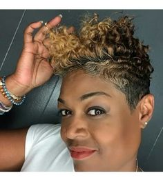 These short black hairstyles really are fabulous Dope Hairstyles, Cute Hairstyles For Short Hair, My Hairstyle, Curly Hair Styles, Natural Hair Styles, Short Sassy Hair, Short Hair Cuts, Short Pixie, Pixie Cuts