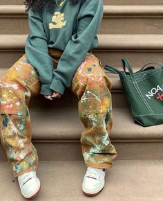 Aesthetic Fashion, Look Fashion, Aesthetic Clothes, Fashion Outfits, Woman Fashion, 90s Fashion, Retro Outfits, Cute Casual Outfits, Mode Ootd