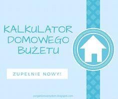 Zorganizowany Dom: Inny arkusz do pilnowania domowego budżetu Organize Your Life, Hand Lettering, Diy And Crafts, Budgeting, Coaching, Organization, Tips, Fun, House