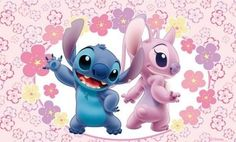 *STITCH and ANGEL (cousin) ~ Lilo and Stitch