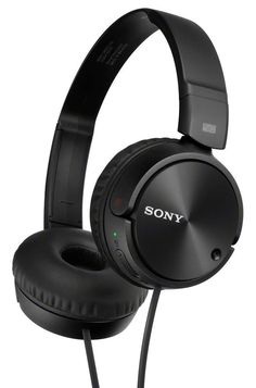 SONY HEADPHONE Fold able NOISE CANCELLING BLACK MDRZX110NC bd5578bfcfd3