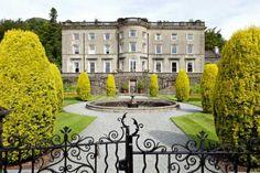 Rydal Hall and Thomas Mawson Garden, England