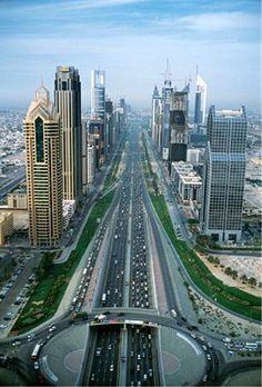Sheik Zayed Road .