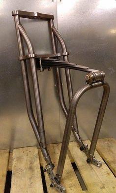 SAP Vintage Harley Leaf Spring Forks
