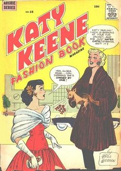 KATY KEENE COMIC NO.15 (1956-57) 6 PAPER DOLL PAGES
