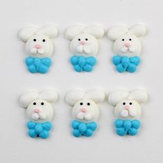 Easter Bunny Royal Icing Decorations | CaljavaOnline
