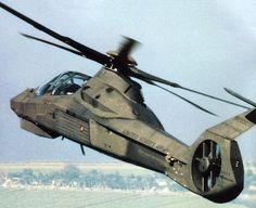 The Boeing/Sikorsky Comanche was an advanced U. Army military helicopter intended for the armed reconnaissance role, incorporating stealth technologies. Comanche Helicopter, Helicopter Plane, Attack Helicopter, Military Helicopter, Military Jets, Military Weapons, Military Aircraft, Stealth Technology, Airplane Fighter