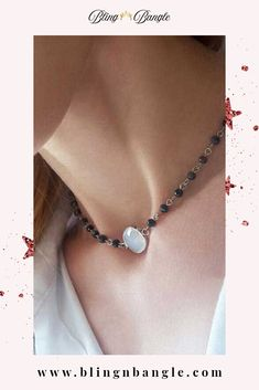 Bling n Bangle fashion chokers can give a fascinating visual effect to your look while also focusing on favoring your neck. Beaded Choker Necklace, Necklaces, Bracelets, Earrings, Jewellery Rings, Jewelry, Crystal Beads, Crystals, Anklet