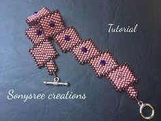 Materials 6mm pearl 10/0 seed beads Nylon thread (0.1mm) Beading needle (10) Technique used - square Stitch (ladder Stitch). You can make this bracelet with ...