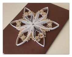 Quilling pattern / tutorial / how to Christmas by Quillings4U