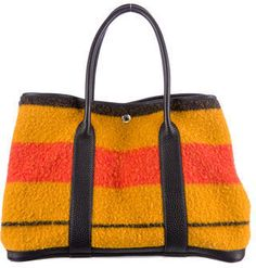 Hermès Wool Garden Party MM