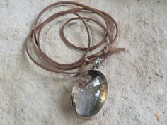 Crystal quartz with  inclusions