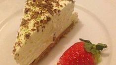 Enjoy the cheesecake plain on its own or decorate with fresh fruit and swirlsof chocolate. Eid Food, Baking Parchment, Dessert Spoons, No Bake Cheesecake, Fresh Cream, Vanilla Essence, Baked Beans, Cottage Cheese, Serving Plates