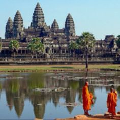 Cambodia...this temple was built before any kind of tool or technology was invented to carve it!