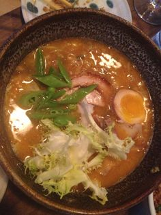 "Brian Grace says Ramen Shop ""is a must try in the Bay Area."" The folks at Ramen Shop add: ""And we have Oro de Calabaza on tap!"""