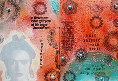 more Frieda Kahlo in awesome art journal from