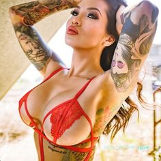 Beautiful Tattooed Girls & Women Daily Pictures. For your Inspiration...