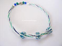 Kumihimo necklace