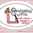 Wonderful Worm Unit that includes:  Science Worm facts Labeling a worm Some questions to ask your students Compare & Contrast Venn Diagram(eart...