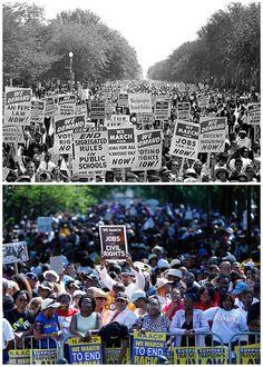 March on Washington 50th Anniversary: Aug 28,1963 & Aug 24,2013