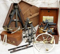 Sextant and Navigational Instruments