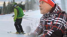 Snørapport fra Kvitfjell i anledning vinterferien 2015. Jan Jansrud og jeg tok turen for å filme forholdene samt intervjue daglig leder i Kvitfjell.