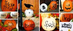 Cute Pumpkin Vinyl Decals