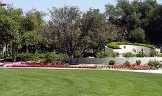 Ronald Reagan Library and Museum - President Reagan's grave is located on the far right in the white half-circle.