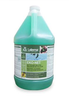 Neutral Cleaner and Calcium Remover EKO-NET: EKO-LOGIK neutral cleaner and calcium remover