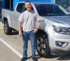 AUSTIN's new 2015 CHEVROLET COLORADO! Congratulations and best wishes from Orr Chevrolet and WESTON FROST.