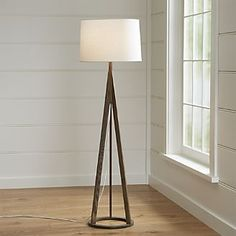 Jackson Dark Brown Floor Lamp