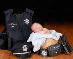 Police newborn @Sarah Chintomby Chintomby Hayes