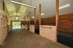 horse barn floor | Private Estates for Sale | Equestrian Estates | North Carolina | South ...
