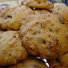 Chocolate-Chunk and Pecan Cookies - Allrecipes.com
