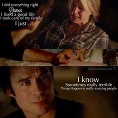 "#TVD 6x14 ""Stay"" - Liz and Damon"