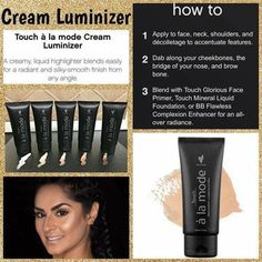 So excited for our Luminizer! Email me or comment below  Kimbakeyounique@yahoo.com or www.southernglambykim.com