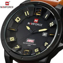 3D Dial Top Luxury Brand NAVIFORCE Waterproof Quartz Watch Army Military Leather Watch Clock Sports Men Watch Relogios Masculino     Tag a friend who would love this!     FREE Shipping Worldwide     #Style #Fashion #Clothing    Buy one here---> http://www.alifashionmarket.com/products/3d-dial-top-luxury-brand-naviforce-waterproof-quartz-watch-army-military-leather-watch-clock-sports-men-watch-relogios-masculino/