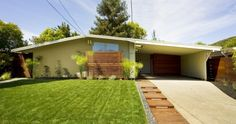 360 Hickory Ln, San Rafael - Just Listed, Mid Century Modern, Alliance Home, Modern Landscape, Ipe wood